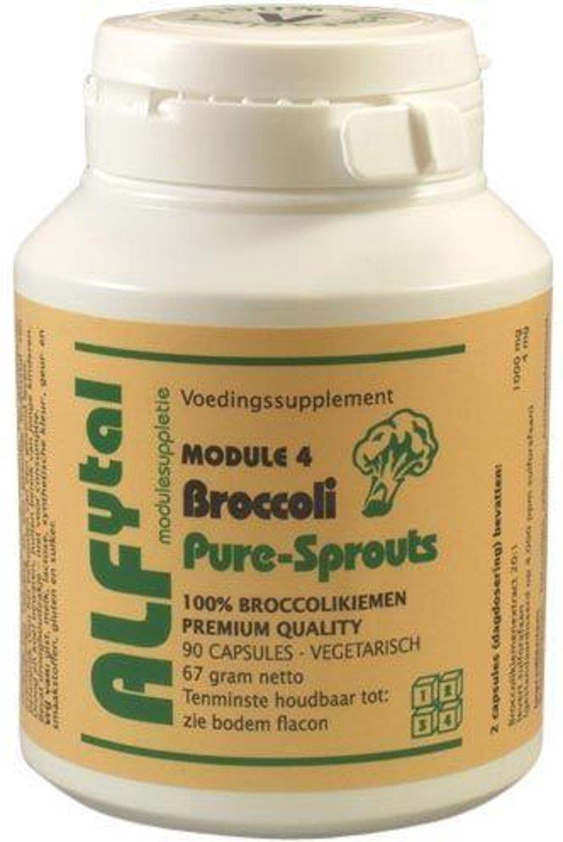 Foto van Alfytal Broccoli Pure Sprouts 90 vegicaps