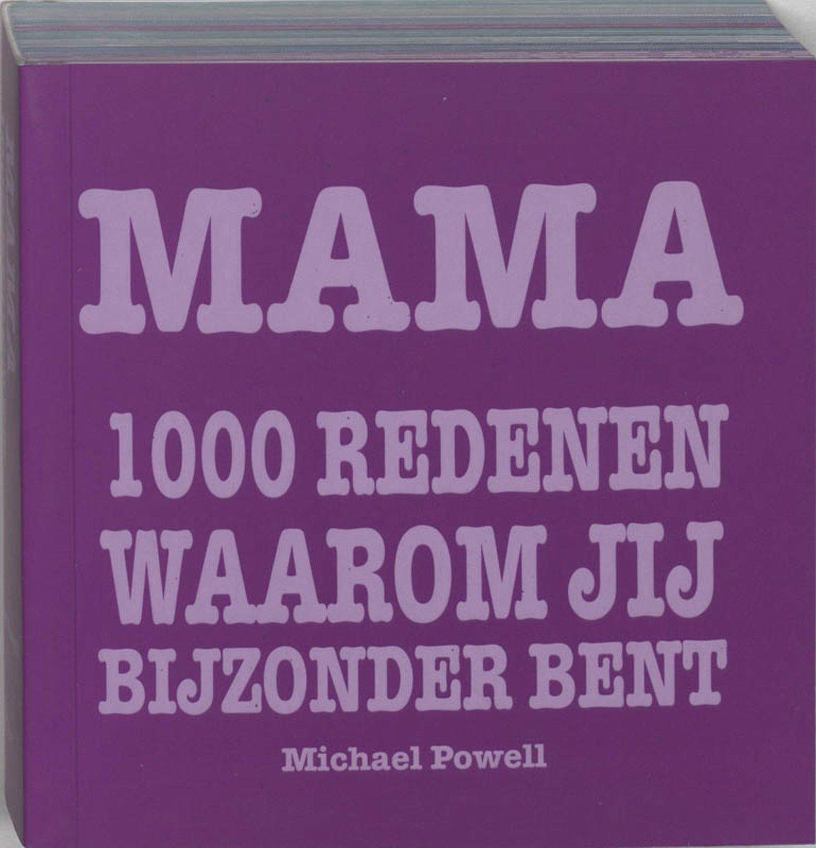 bol.com | Mama 1000 redenen waarom jij bijzonder bent, M. Powell |  9789045307510 | Boeken