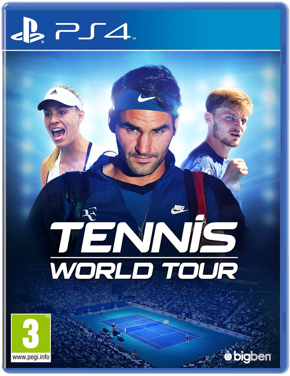 Tennis World Tour PlayStation 4