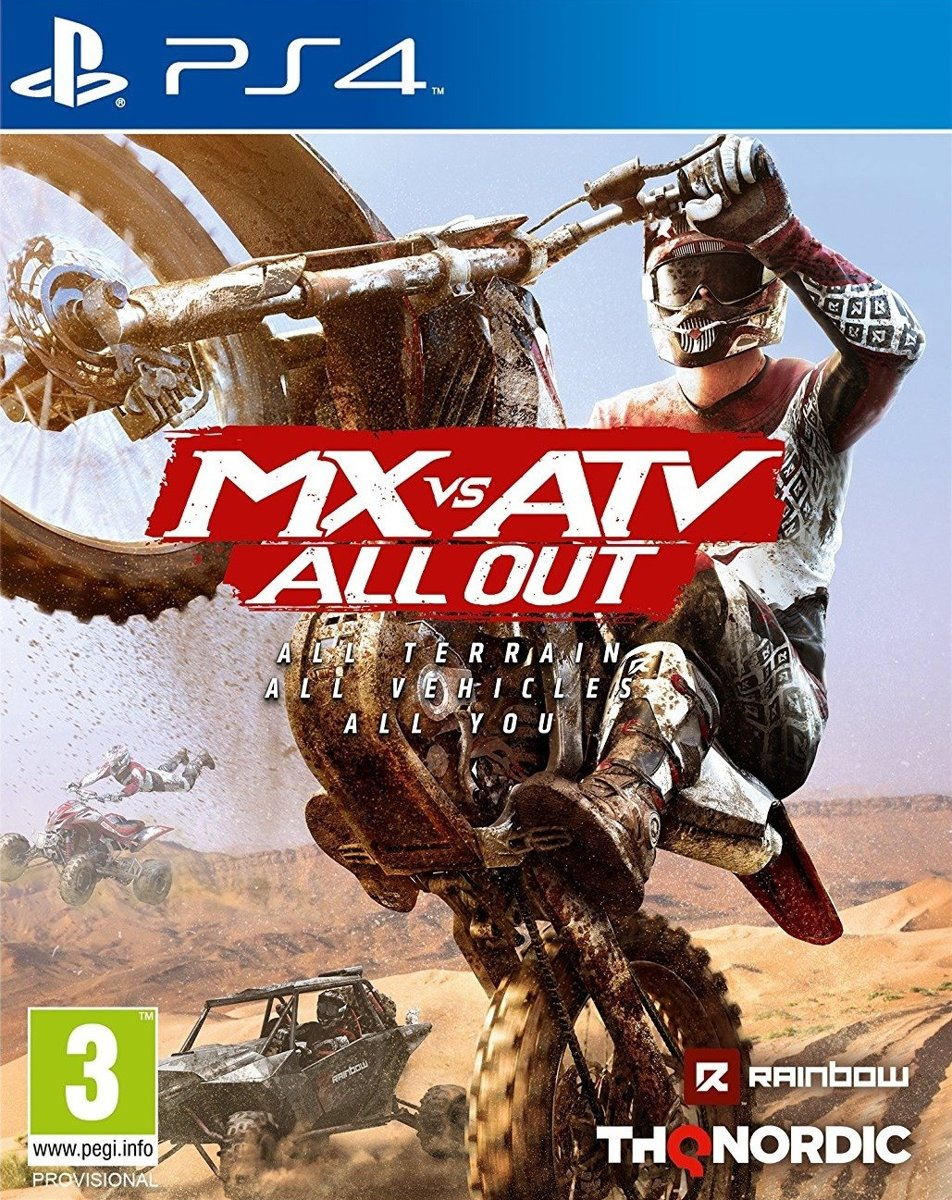 MX vs ATV, All Out PlayStation 4
