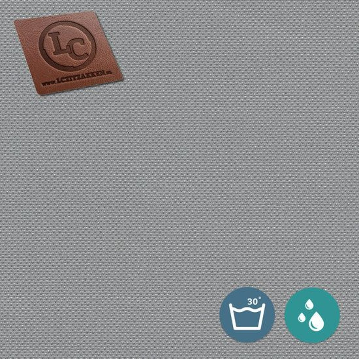 LC Zitzak hoes Barça outdoor grijs - Wasbaar - Geschikt voor buiten kopen