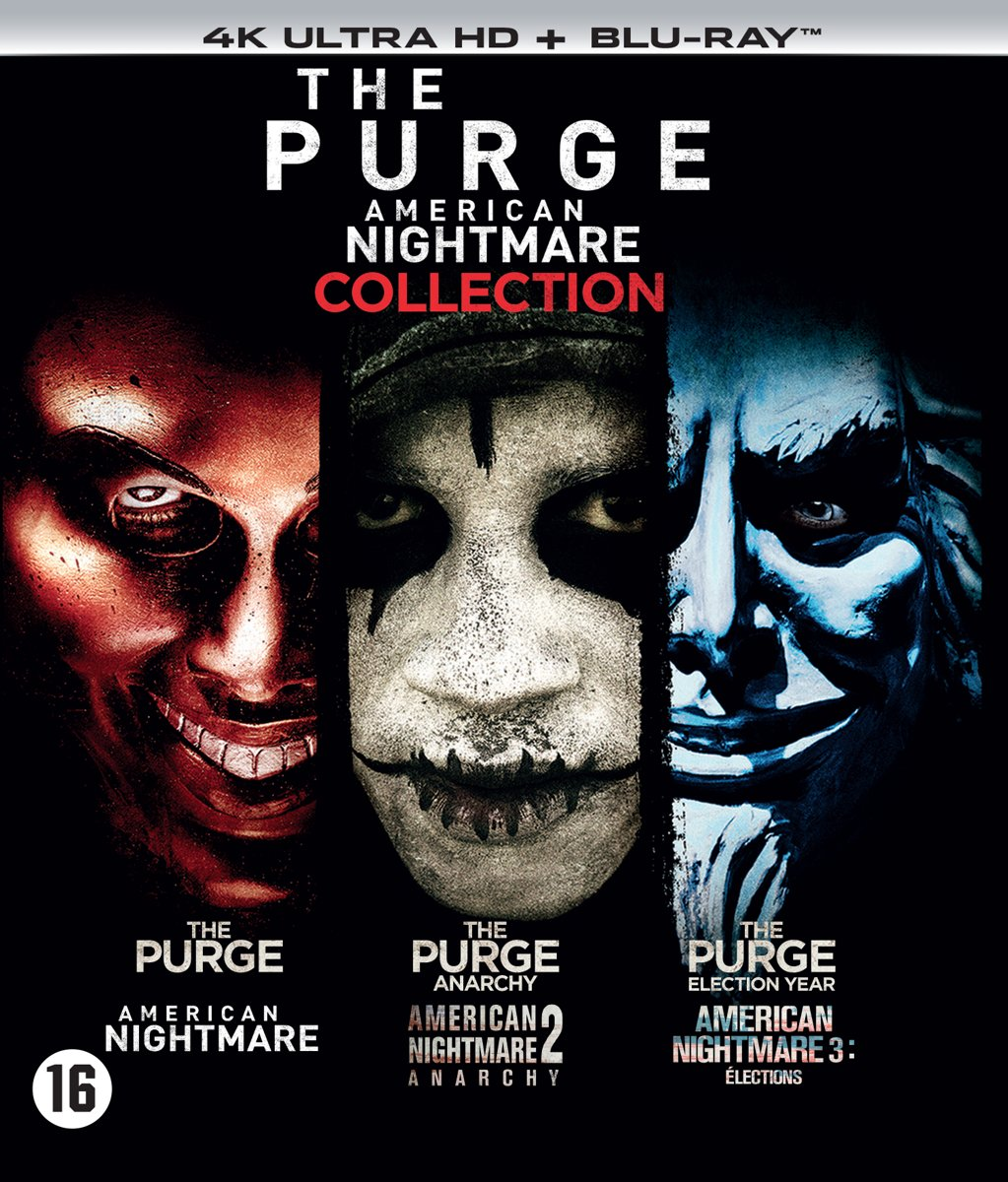 The Purge - 1 t/m 3 Boxset (4K Ultra HD Blu-ray)-