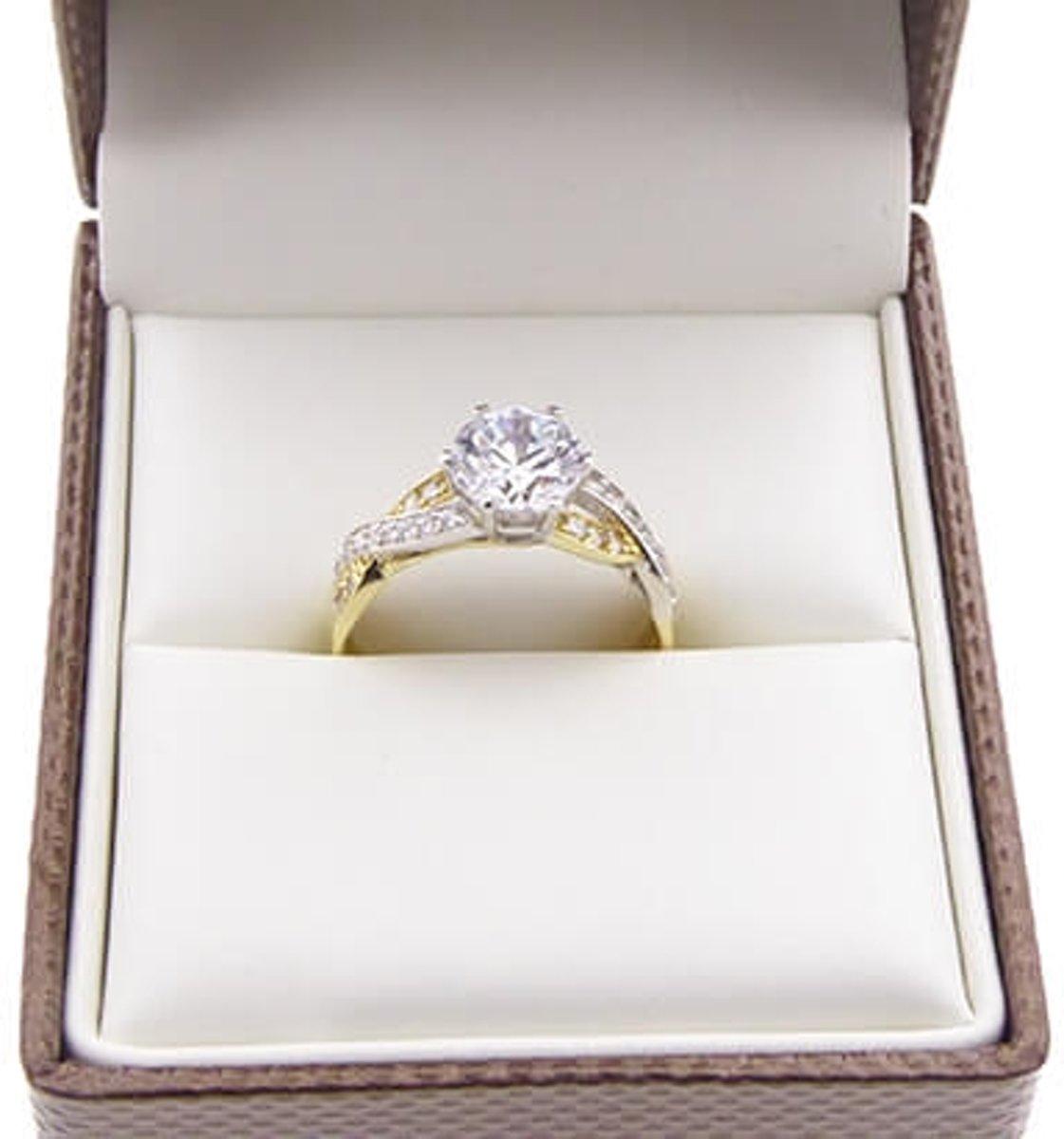 79379f8c863 bol.com | Christian ring met zirkonia