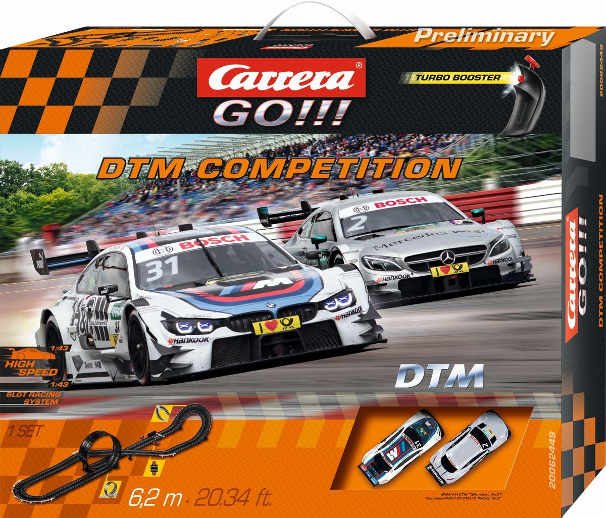 Carrera GO!!! DTM Competition - Racebaan prijzen vergelijken. Klik voor vergroting.