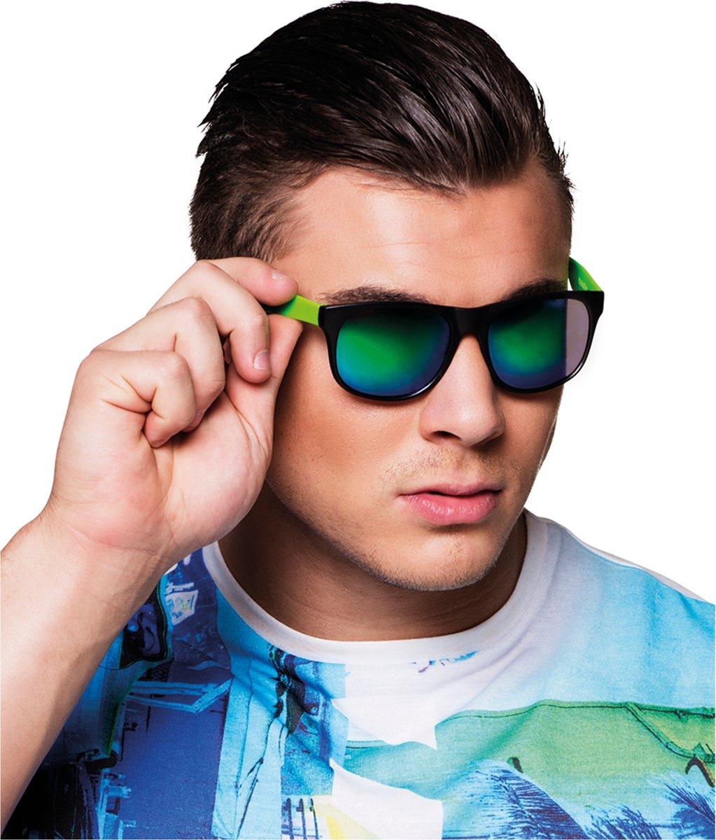 Spiegel bril voor volwassenen - Verkleedattribuut kopen