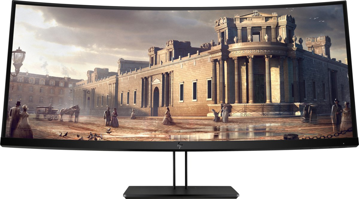 HP Z38c LED display 95,2 cm (37.5'') Ultra-Wide Quad HD+ Zwart