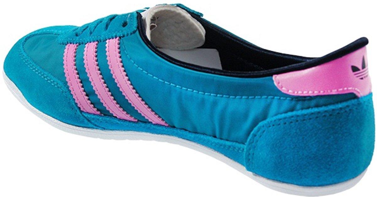 Adidas Ballerina Dames Schoen Blauw Maat 40