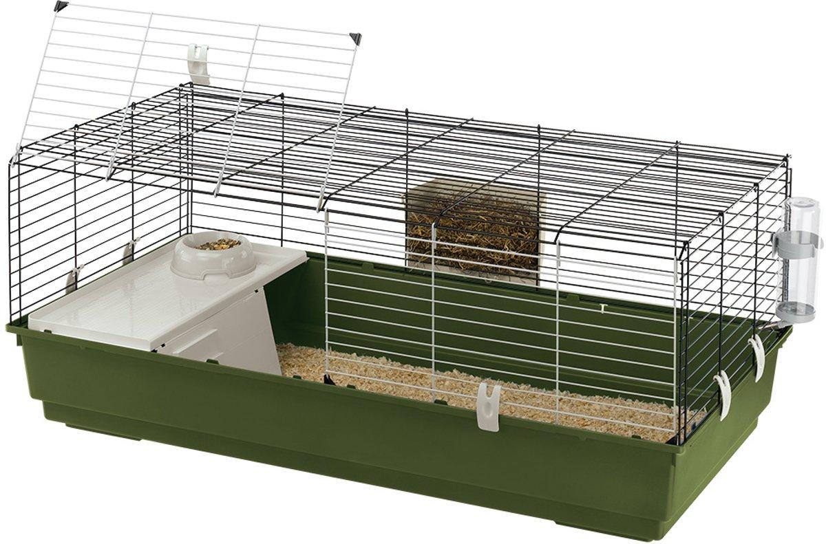 Ferplast Rabbit 120 Konijnenkooi - 118 x 58,5 x 49,5 cm