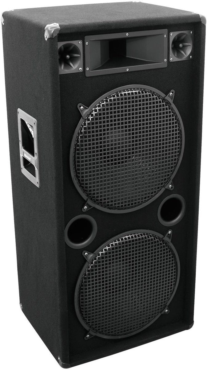 OMNITRONIC DX-2522 3-Way Speaker 1200 W kopen