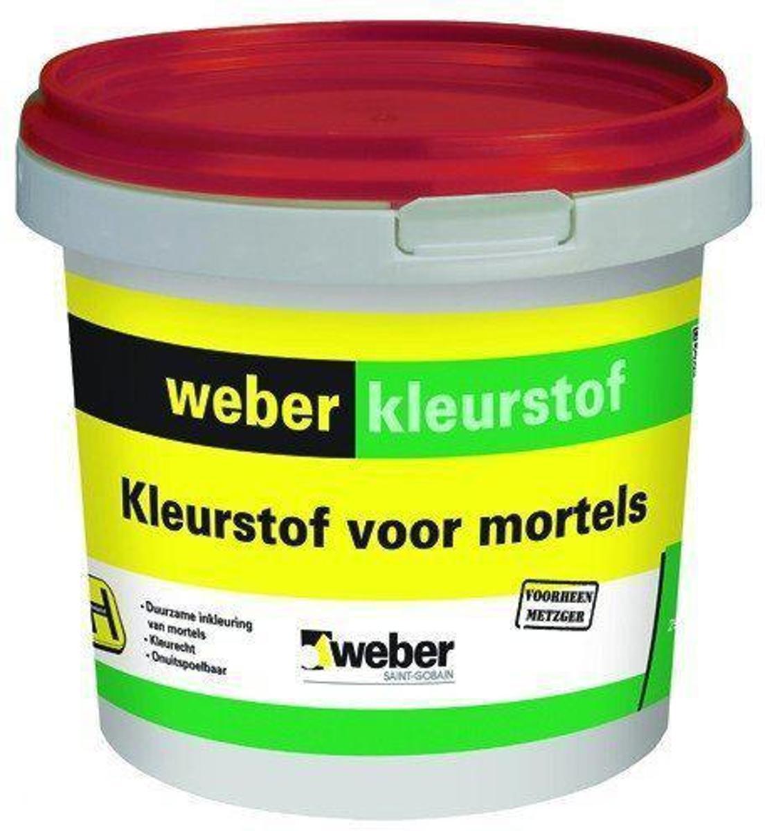 Weber kleurstof zwart emmer 1 kg kopen