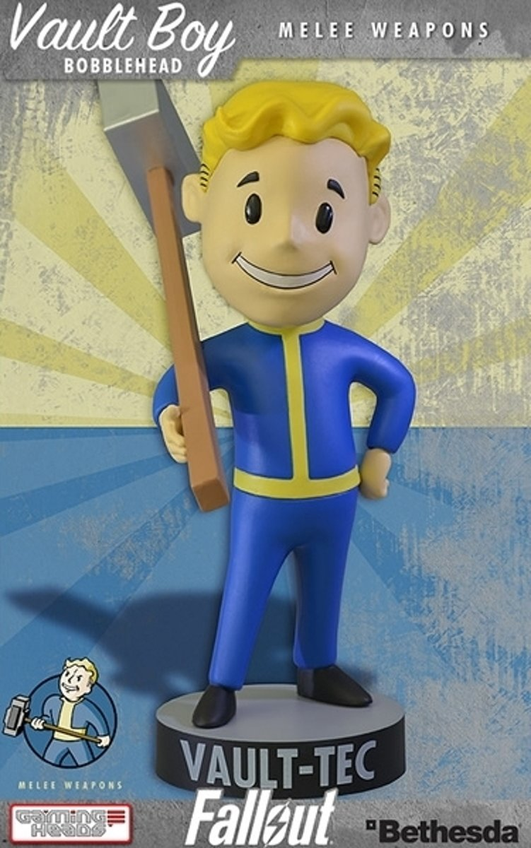 Fallout 4 Vault Boy Bobble Head Series 1 Melee Weapons