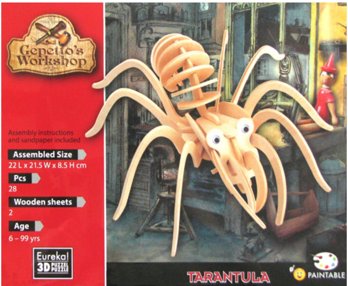 Gepetto's Workshop Tarantula