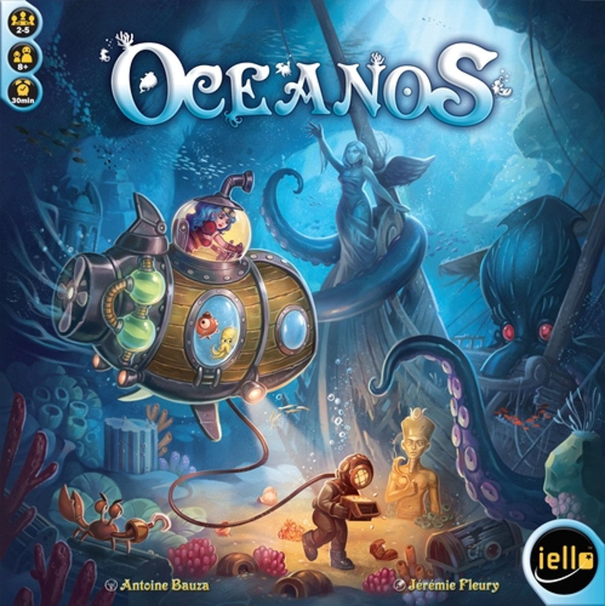 Oceanos Bordspel - Engelstalig