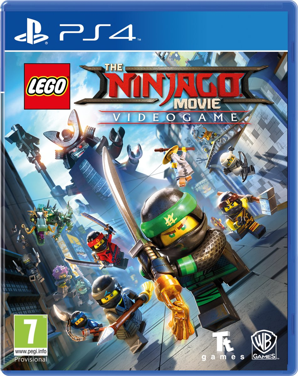 LEGO Ninjago Movie The Game PlayStation 4