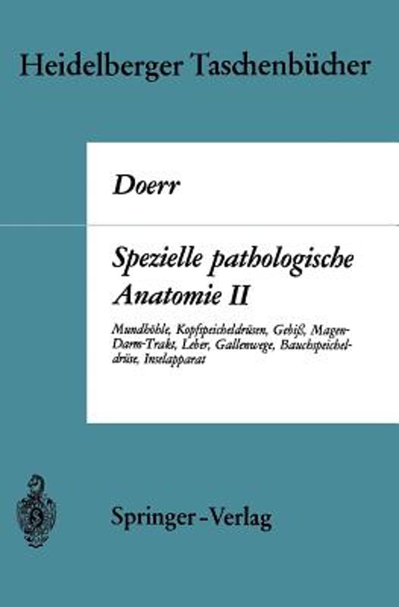 bol.com | Spezielle Pathologische Anatomie | 9783540048701 | W ...