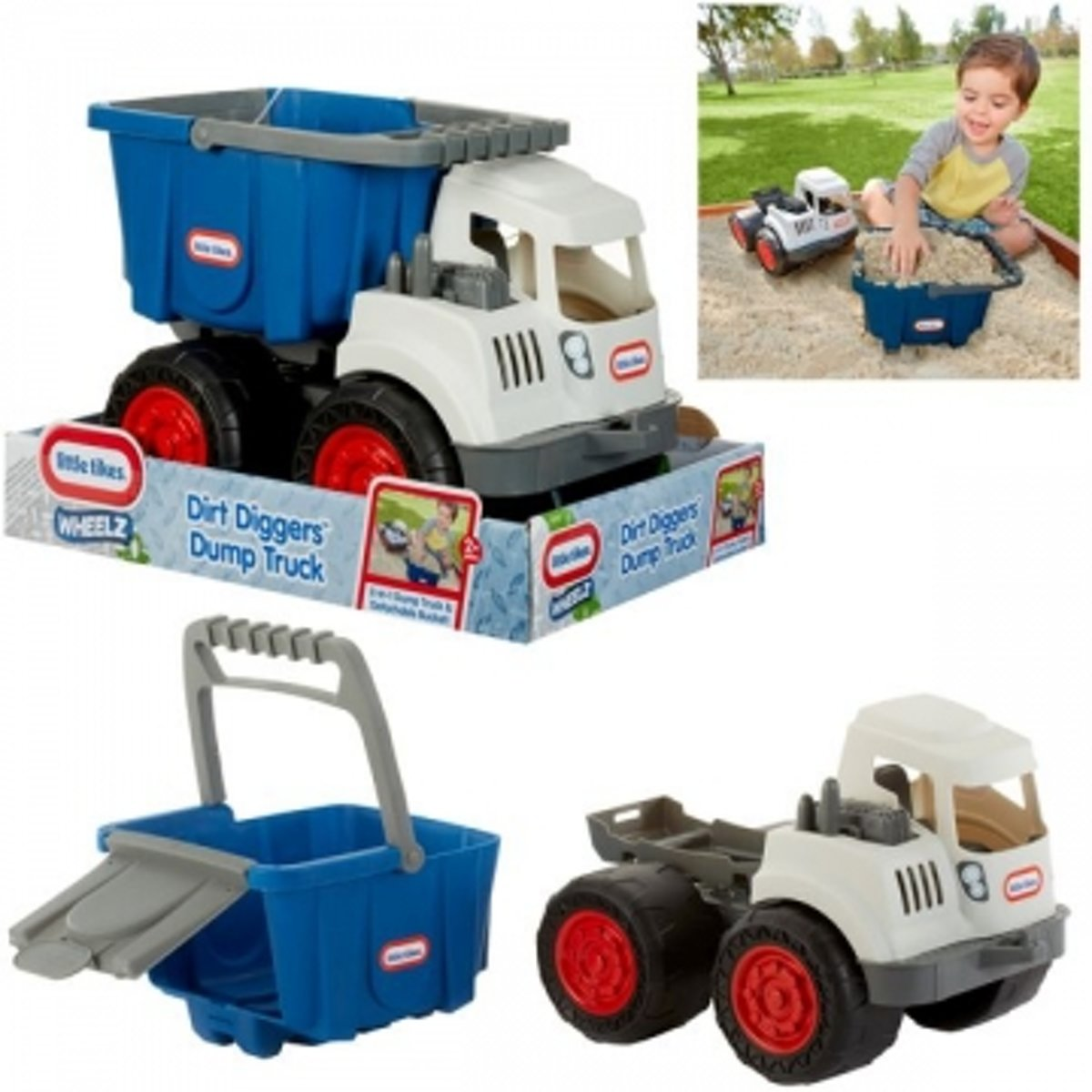 Dirt Diggers? 2-in-1 Dump Truck