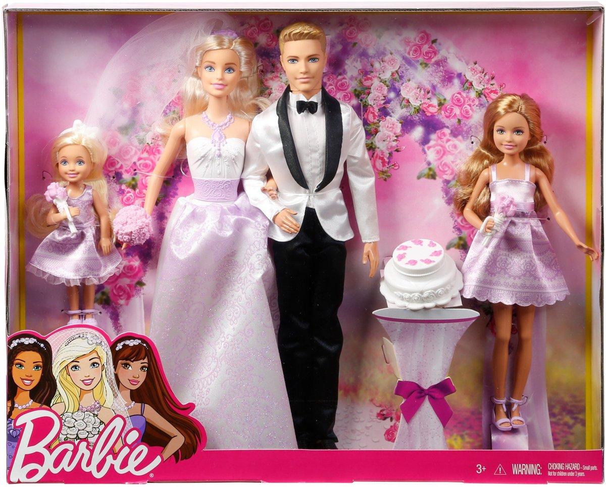 Barbie Bruiloft Cadeauset Barbiepop