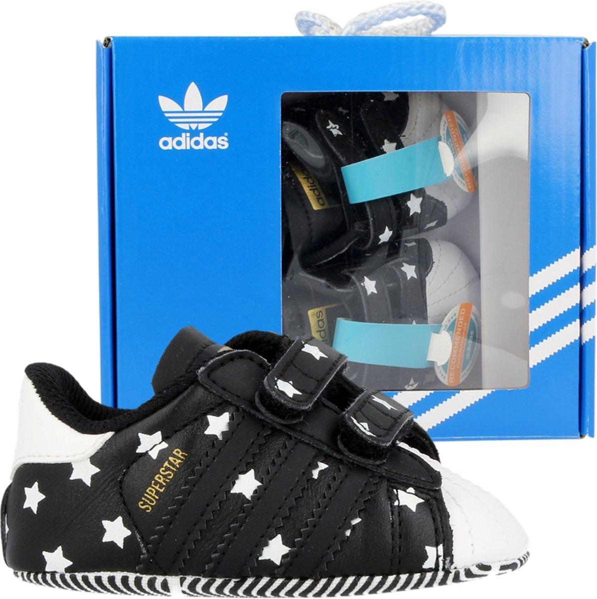 dc5db05aebf bol.com | adidas SUPERSTAR CRIB M17223 Zwart;Wit maat 21