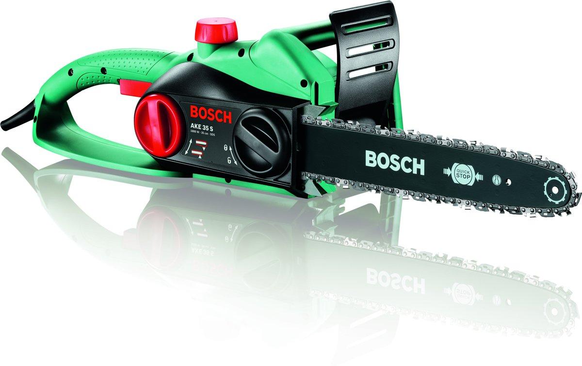 Bosch AKE 35 S Kettingzaag - 1800 Watt - 35 cm zwaardlengte - Met gratis extra ketting