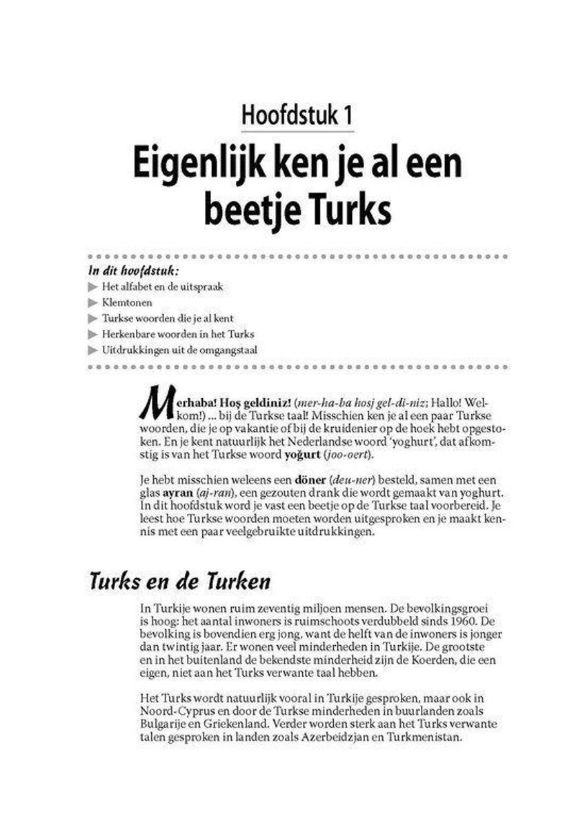 Voorkeur bol.com | Turks voor Dummies, Elif Dilmaç | 9789043025751 | Boeken &RO91