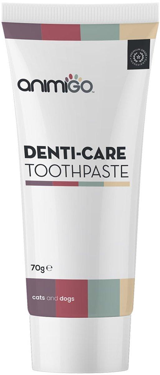 Animigo Denti-Care Tandpasta voor Honden en Katten - Eetbare Natuurlijke Tandpasta - 70g kopen