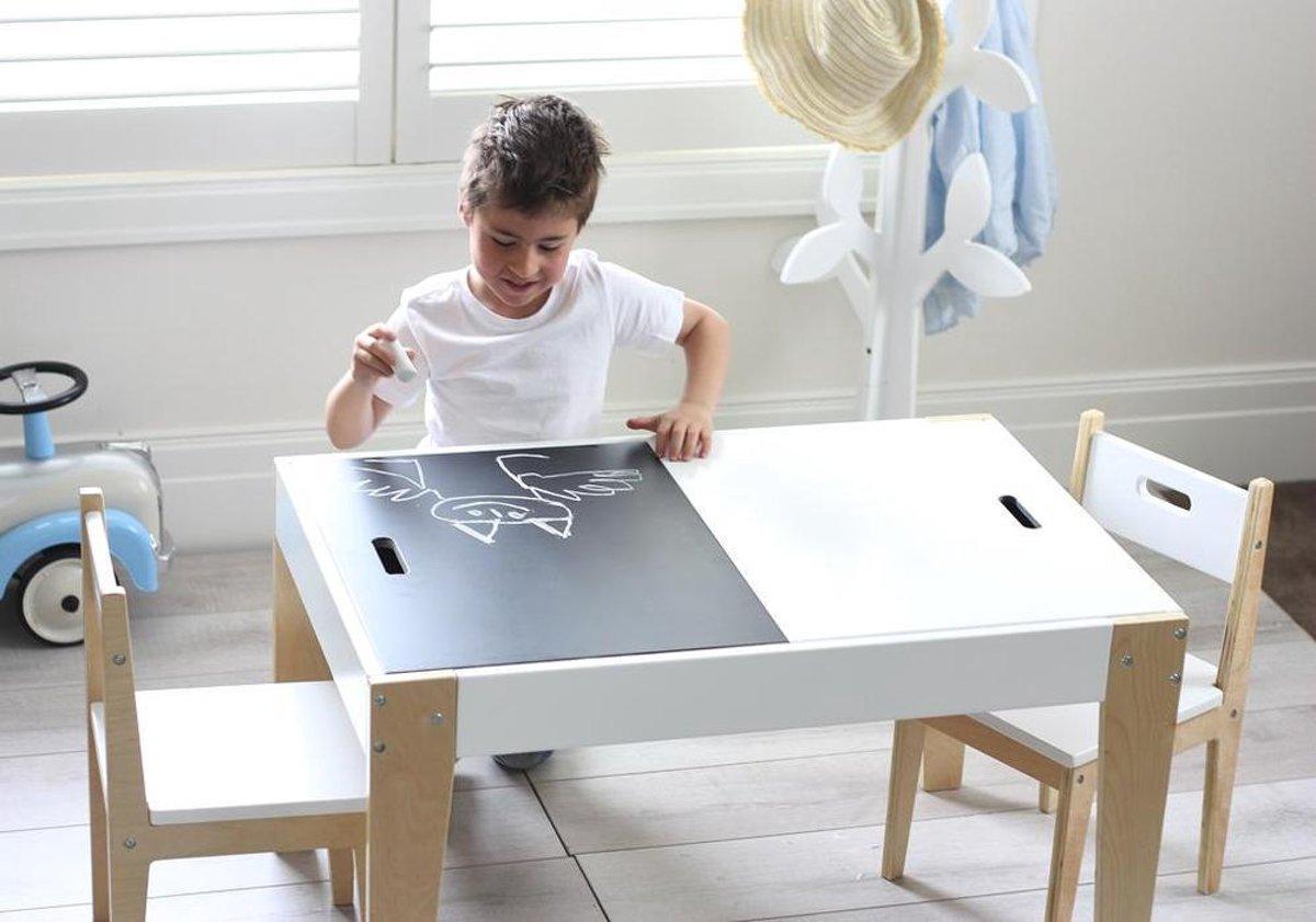 Kindertafel En Stoel Met Opbergruimte.Bol Com Beboonz Storage Kindertafel En 2 Stoeltjes