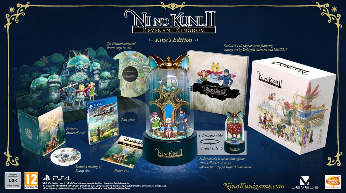 Ni no Kuni II: Revenant Kingdom - King's Edition PlayStation 4