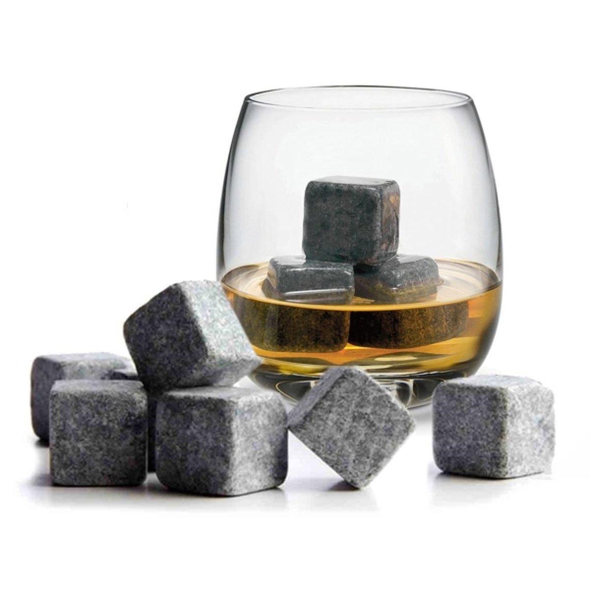 Whiskey Stones Doosje met 9 stenen kopen
