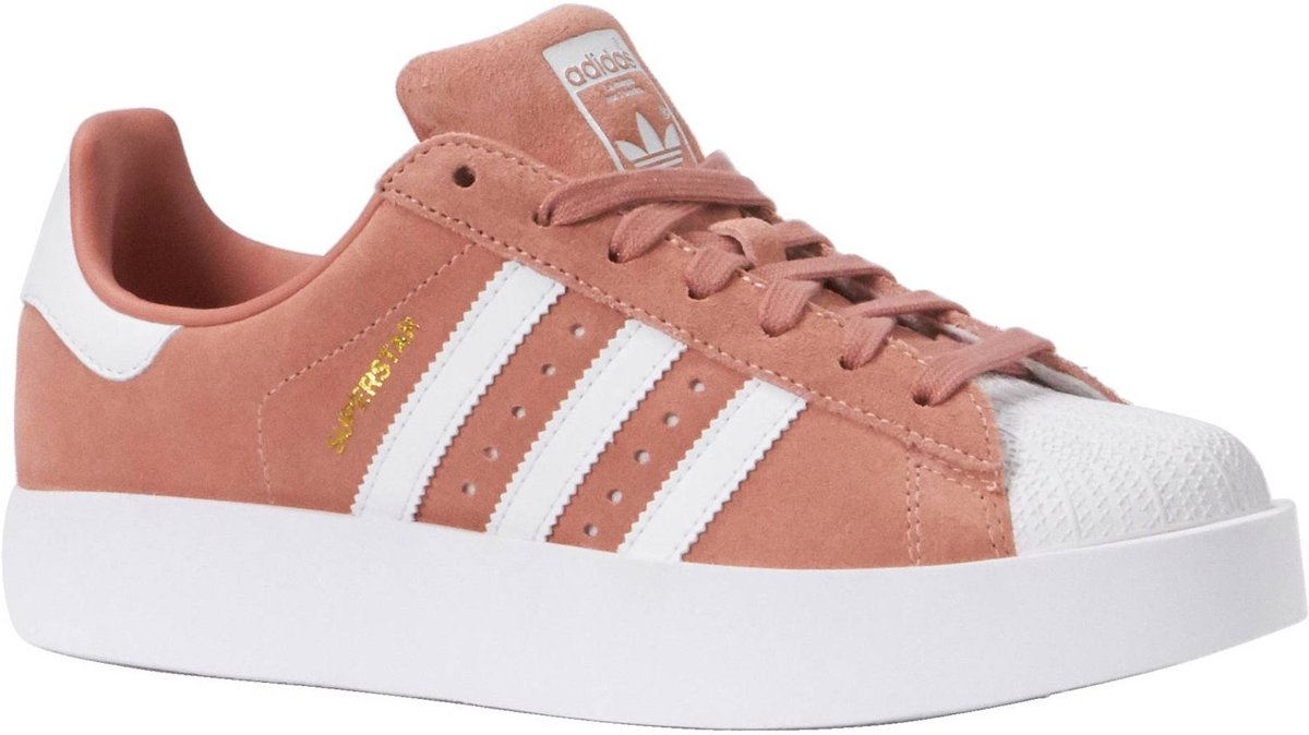 0f273172df6 bol.com | Adidas Sneakers Superstar Bold Dames Roze Maat 36 2/3