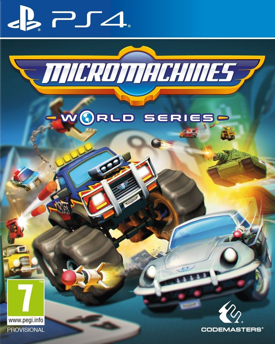 Micro Machines World Series PlayStation 4