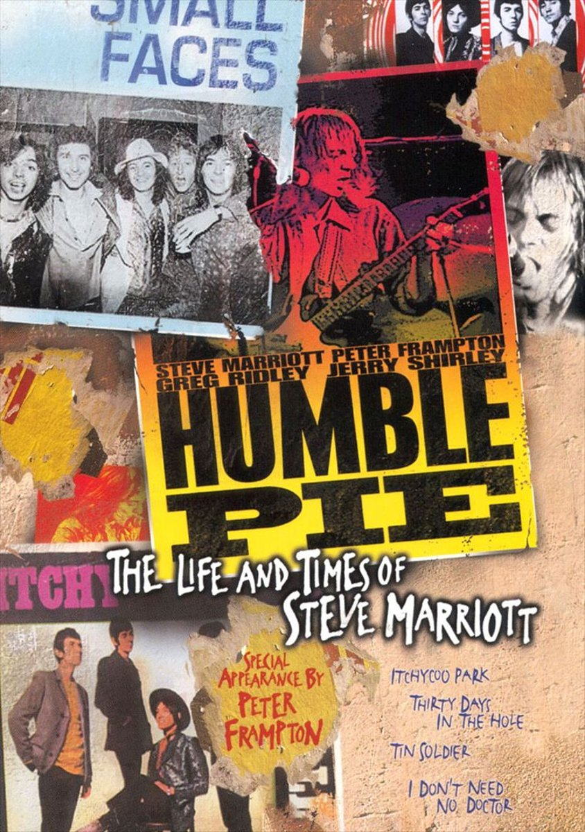 Life Times Of Steve Marriott Dvd Dvds Humble Pie The And