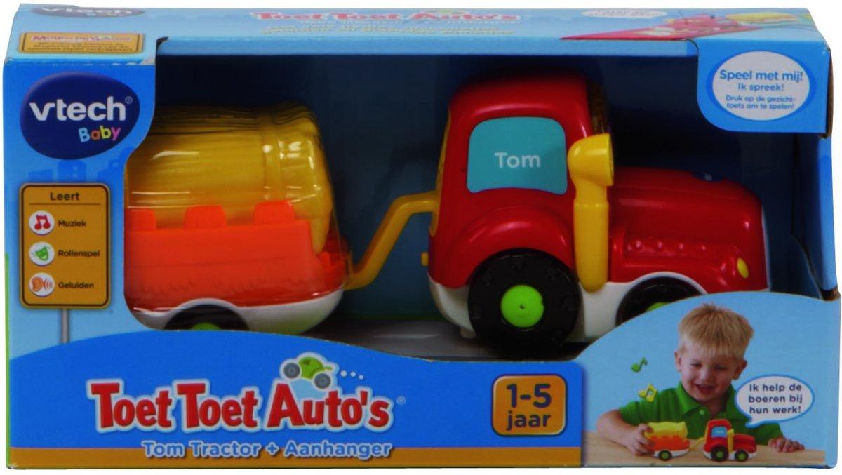Baby in bed zonder boeren - Bol Com Vtech Toet Toet Auto S Tom Tractor Hooiwagen Speelfiguren Vtech