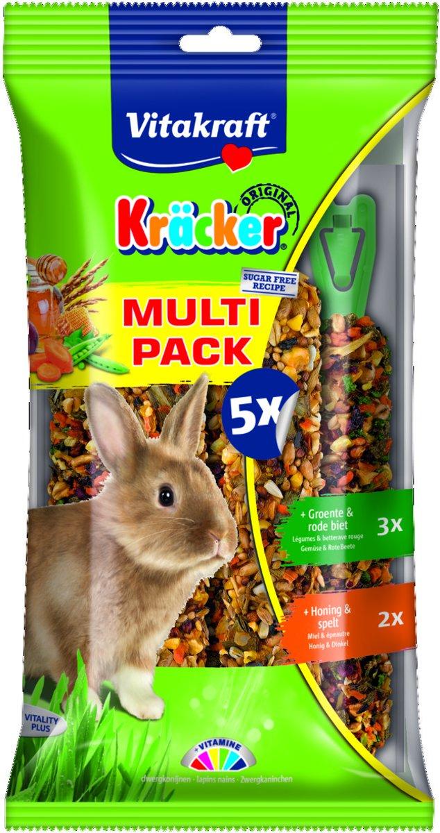Vitakraft Konijn Kr\xe4cker Voordeelpak 5 stuks