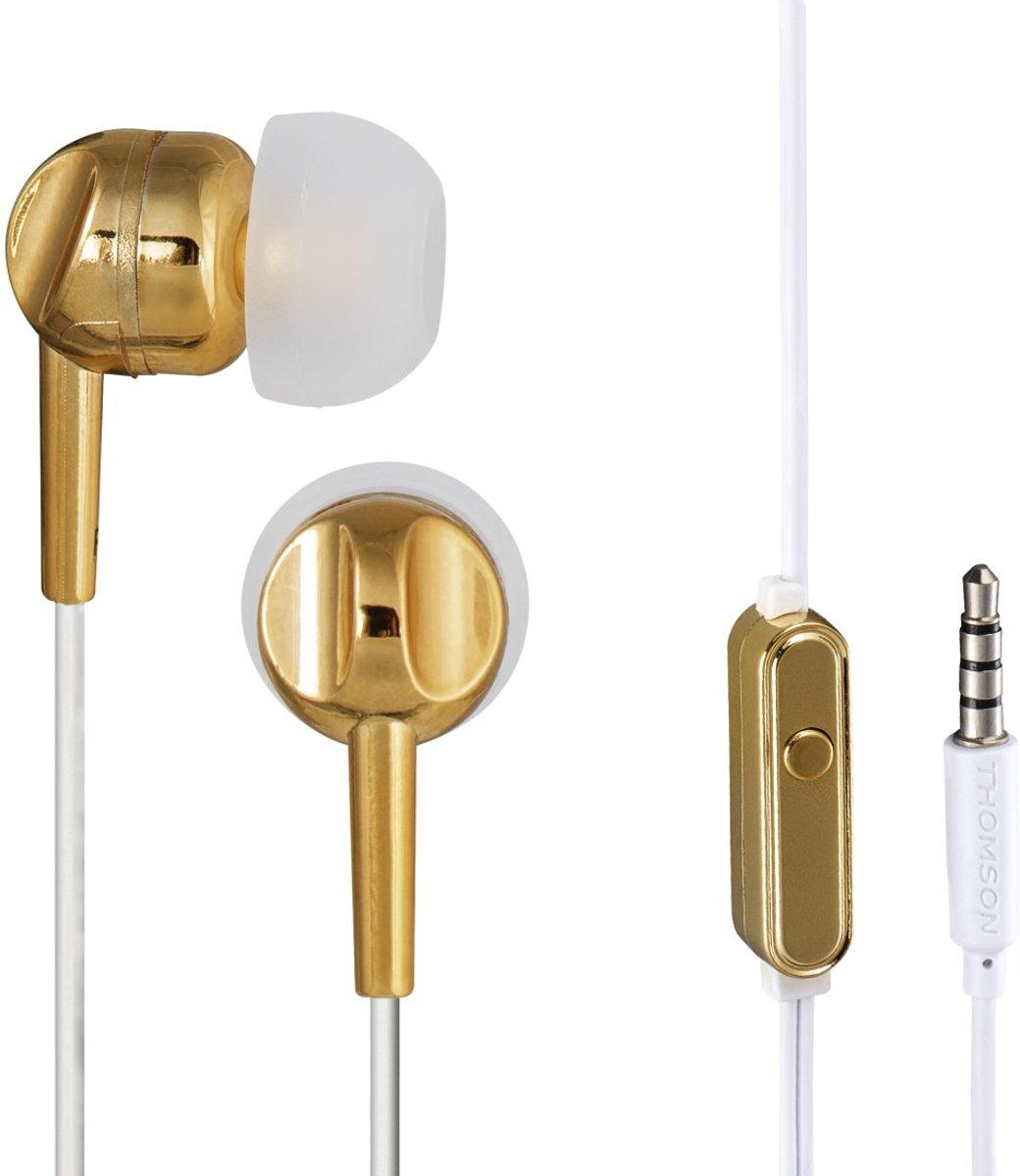Thomson hoofdtelefoon in-ear EAR3025 goud kopen