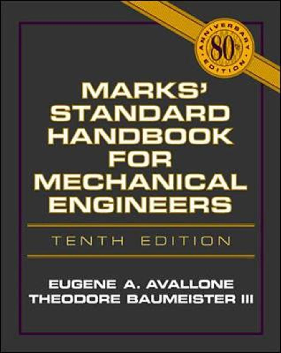 bol.com | Marks' Standard Handbook For Mechanical Engineers, Eugene A.  Avallone | 9780070049970.