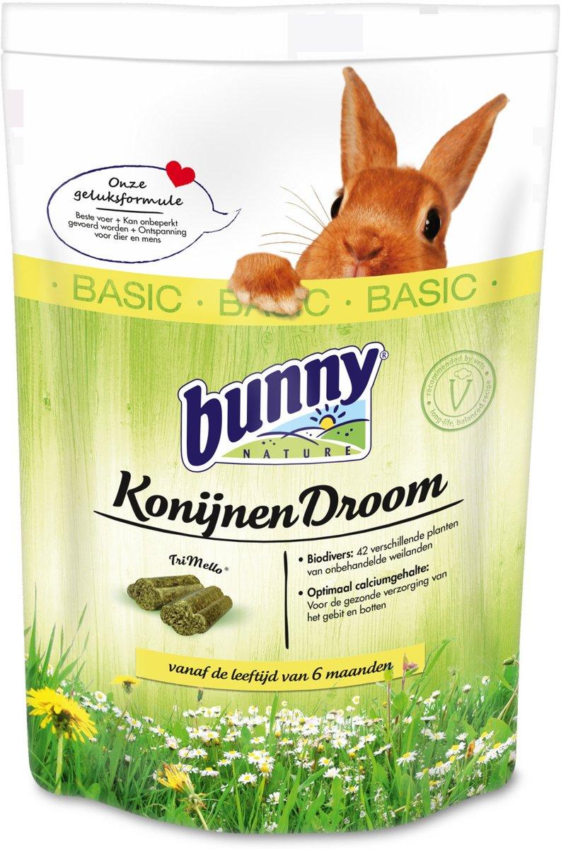 Bunny nature konijnendroom basic 4 kg