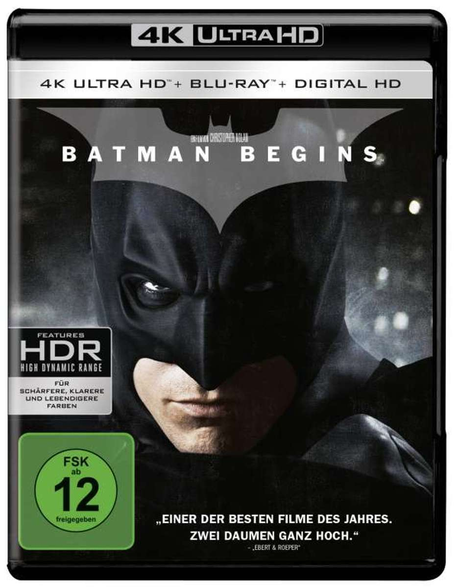 Batman Begins (Ultra HD 4K Blu-ray) (Import)-
