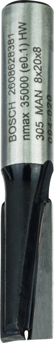 Bosch - Vingerfrezen 8 mm, D1 8 mm, L 20 mm, G 51 mm kopen