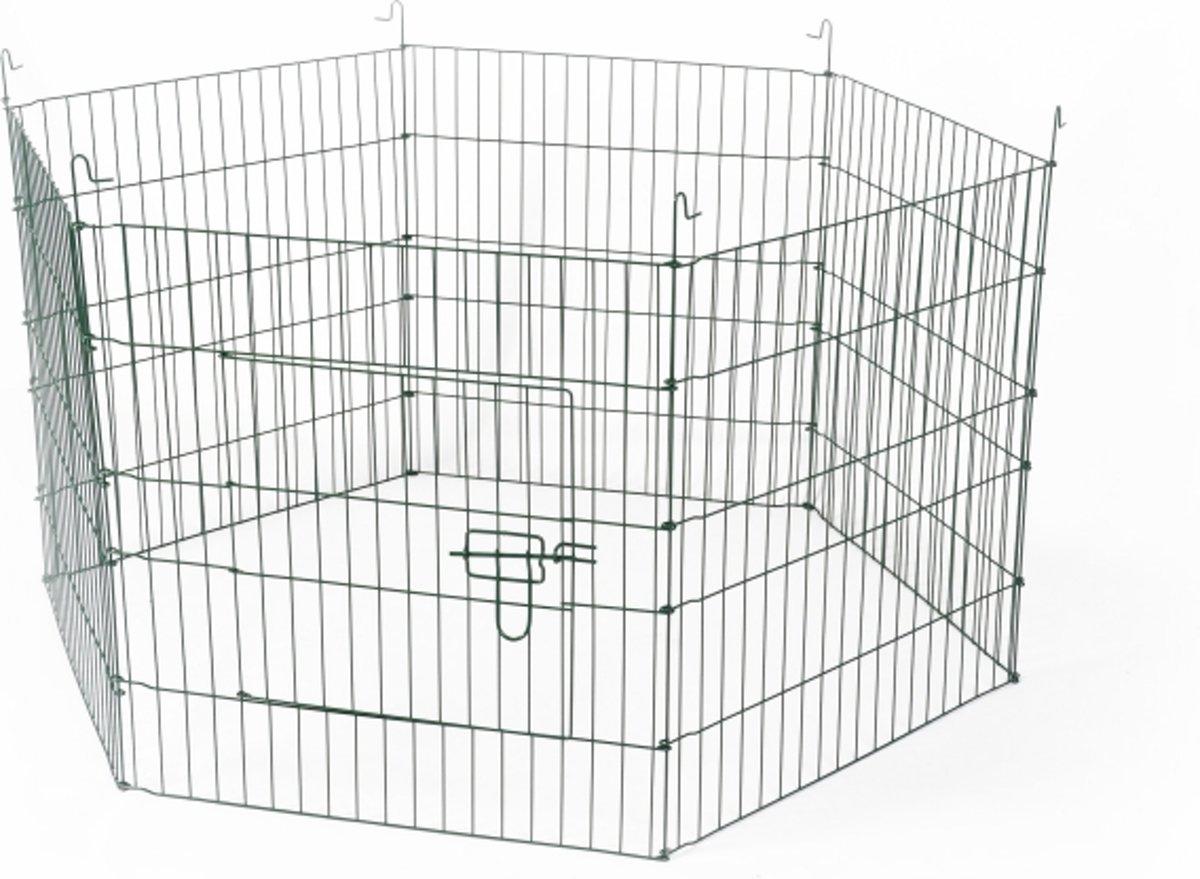 Duvo+ Knaagdieren ren 6 panelen - Aluminium - 60 x 60cm kopen