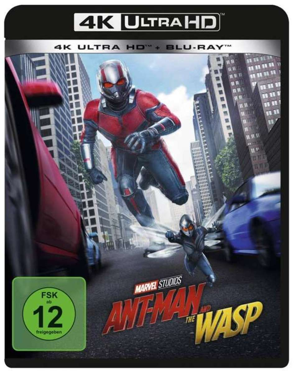 Ant-Man and the Wasp (Ultra HD Blu-ray & Blu-ray)-