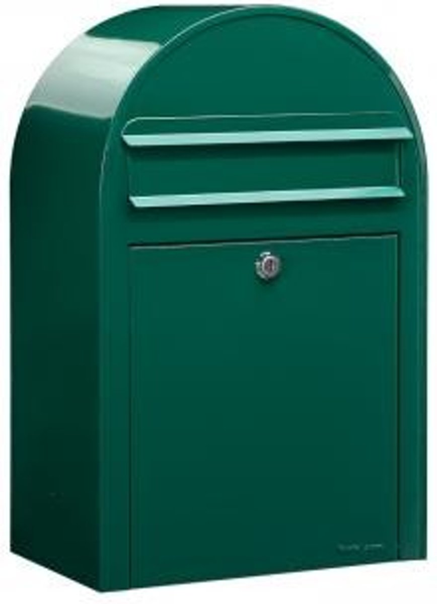 postkast donker groen 50x32x21cm