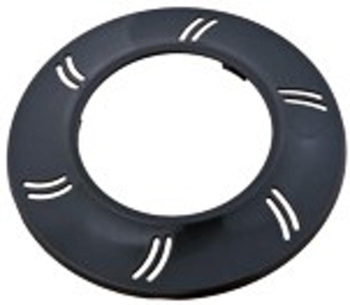 Zwarte front ring voor afdekking PLA100 lamp