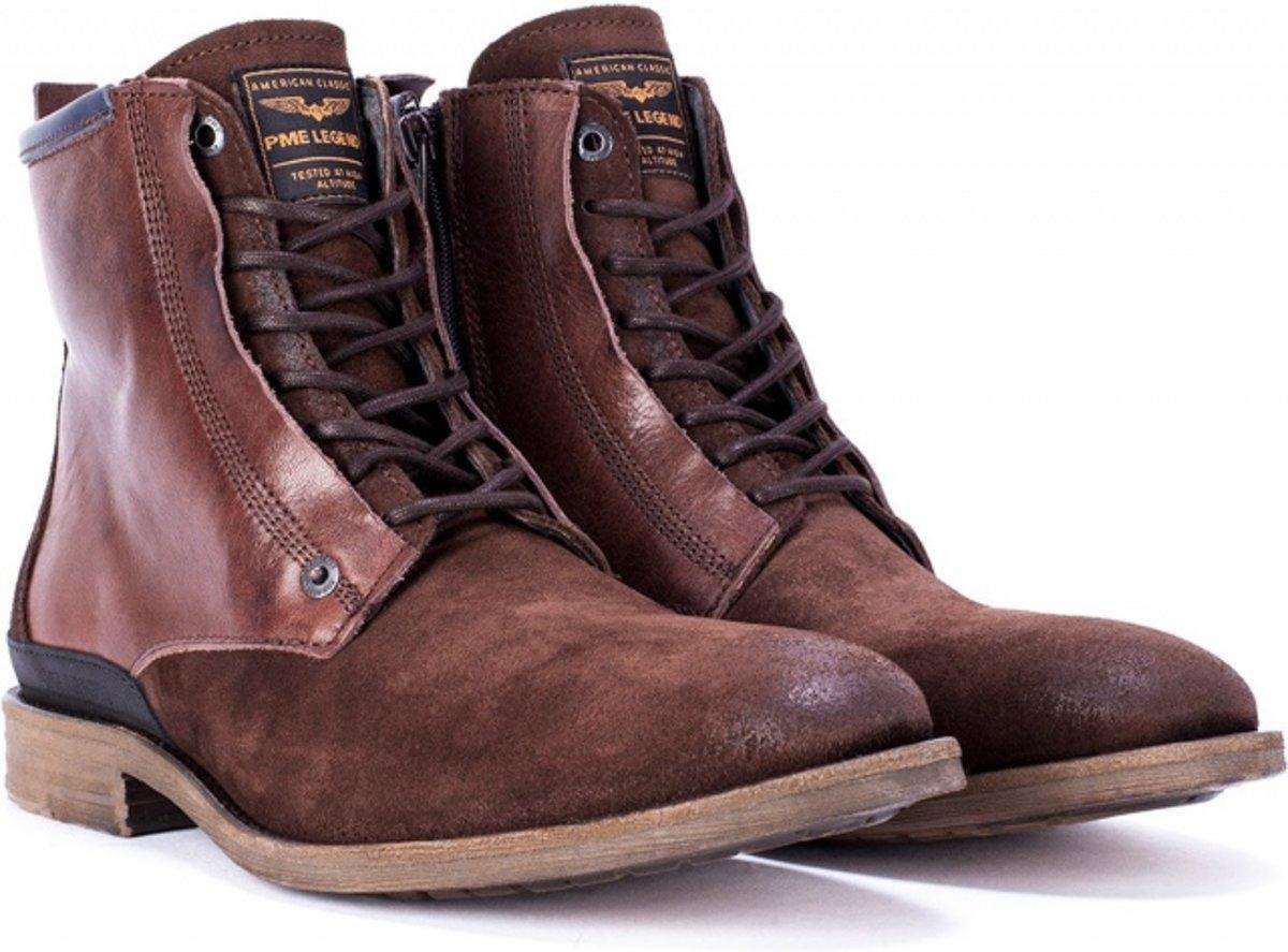   Pme legend bruine leren schoenen Maat 44