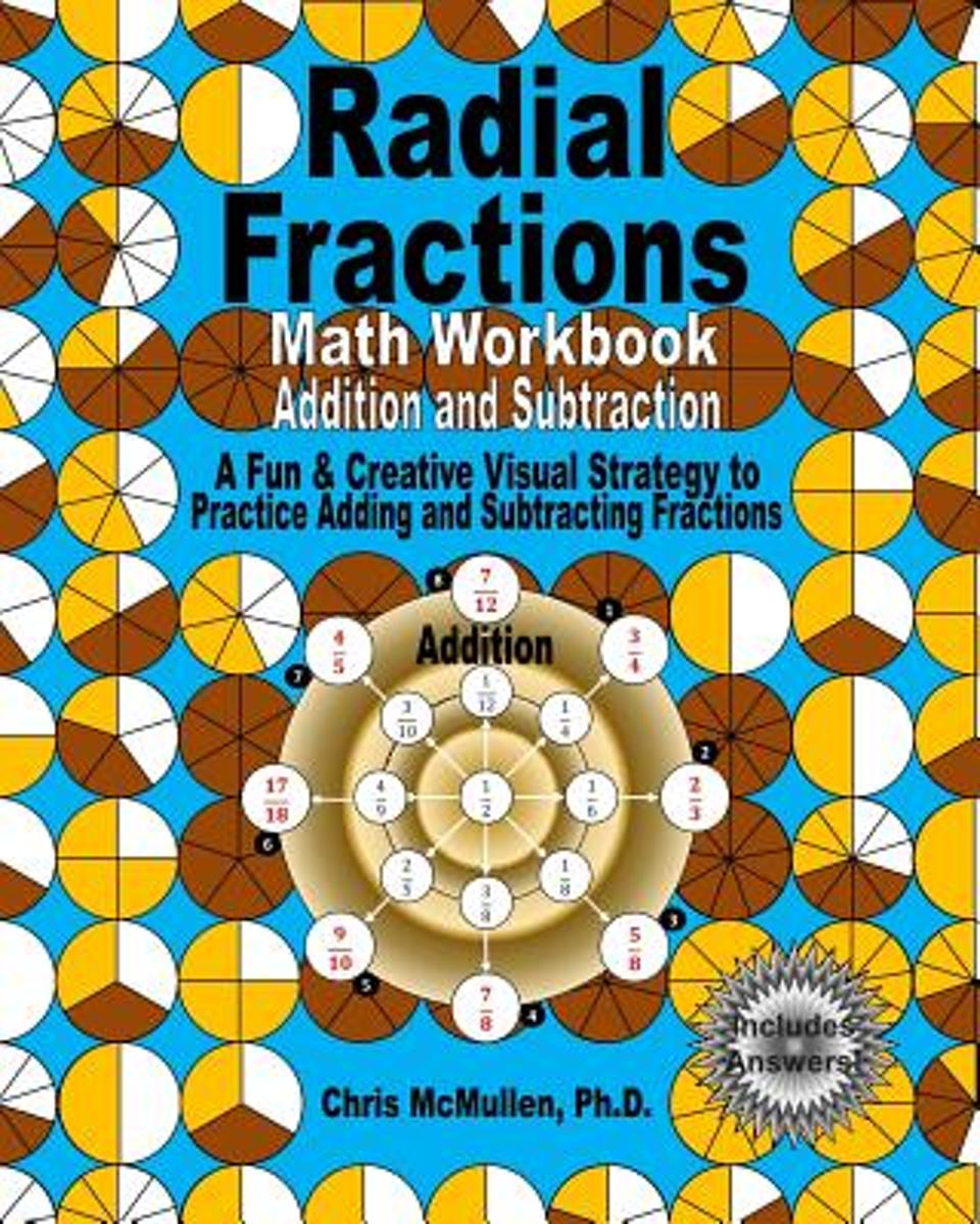 bol.com | Radial Fractions Math Workbook (Addition and Subtraction ...