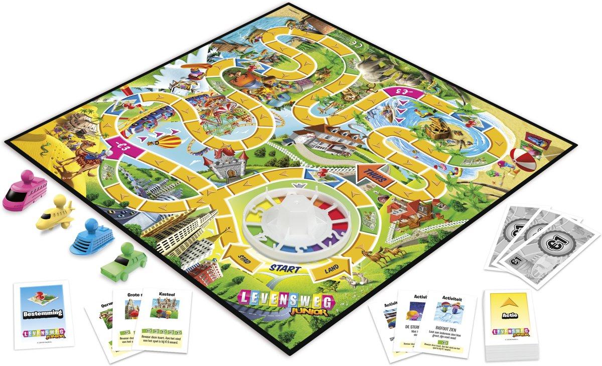 Bolcom Levensweg Junior Kinderspel Hasbro Speelgoed