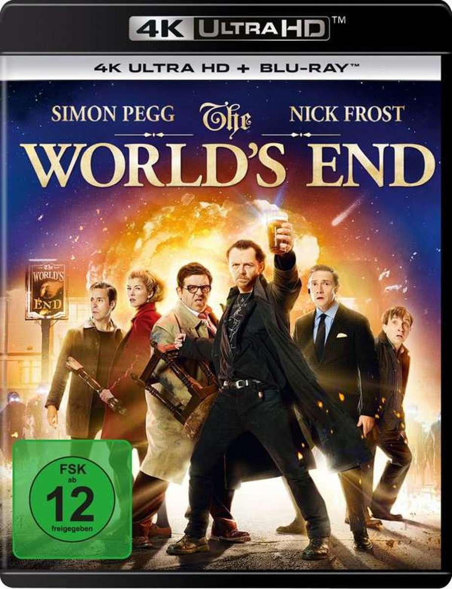 The World's End (Ultra HD Blu-ray & Blu-ray)-