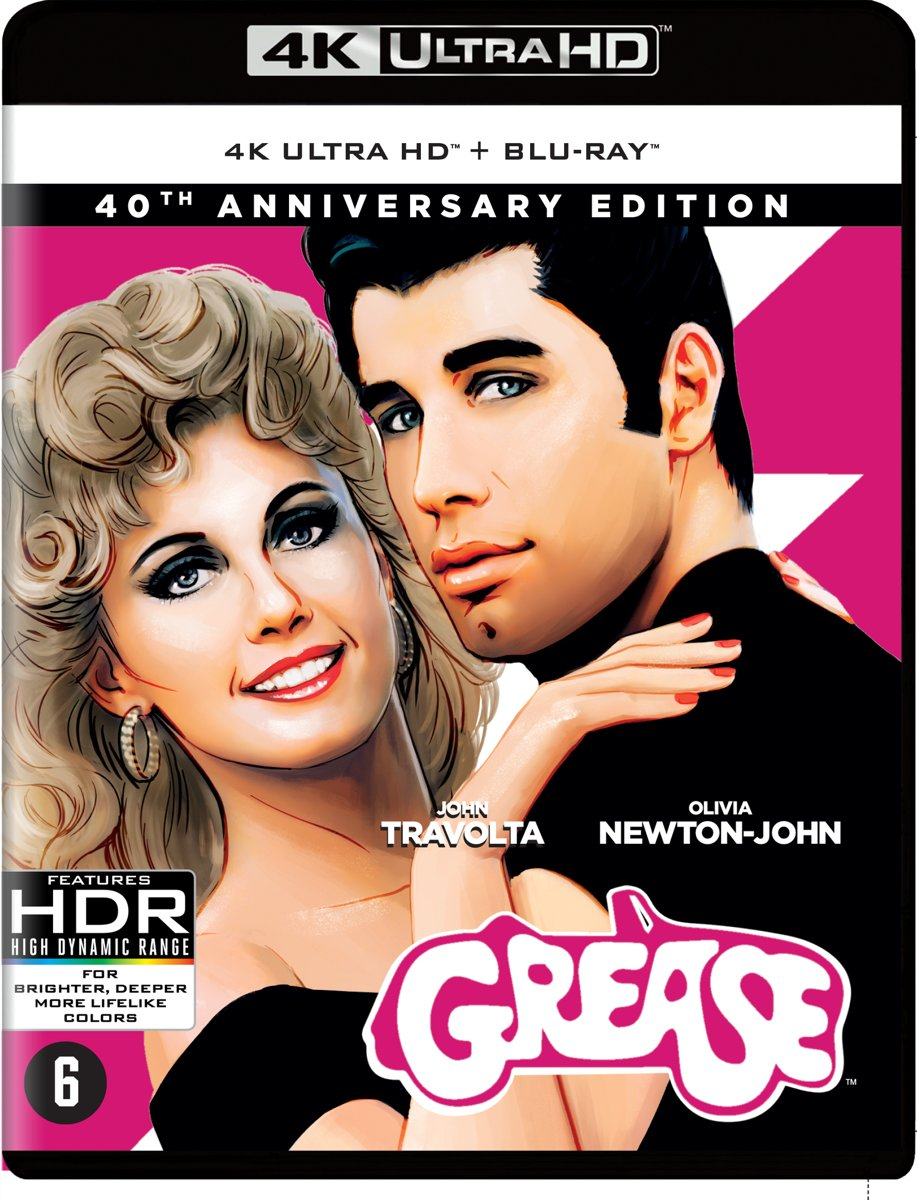 Grease (40th Anniversary)(4K Ultra HD Blu-ray)-