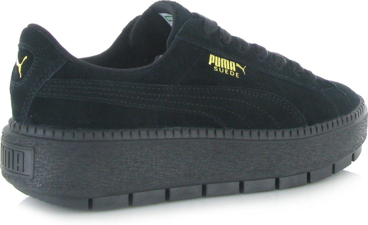 PUMA Platform Rugged Trace   Grijs   Dames   Puma sneakers