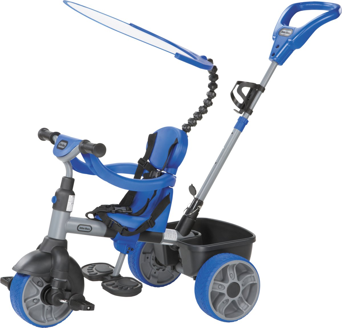 Little Tikes 4-in-1 Blauw - Driewieler