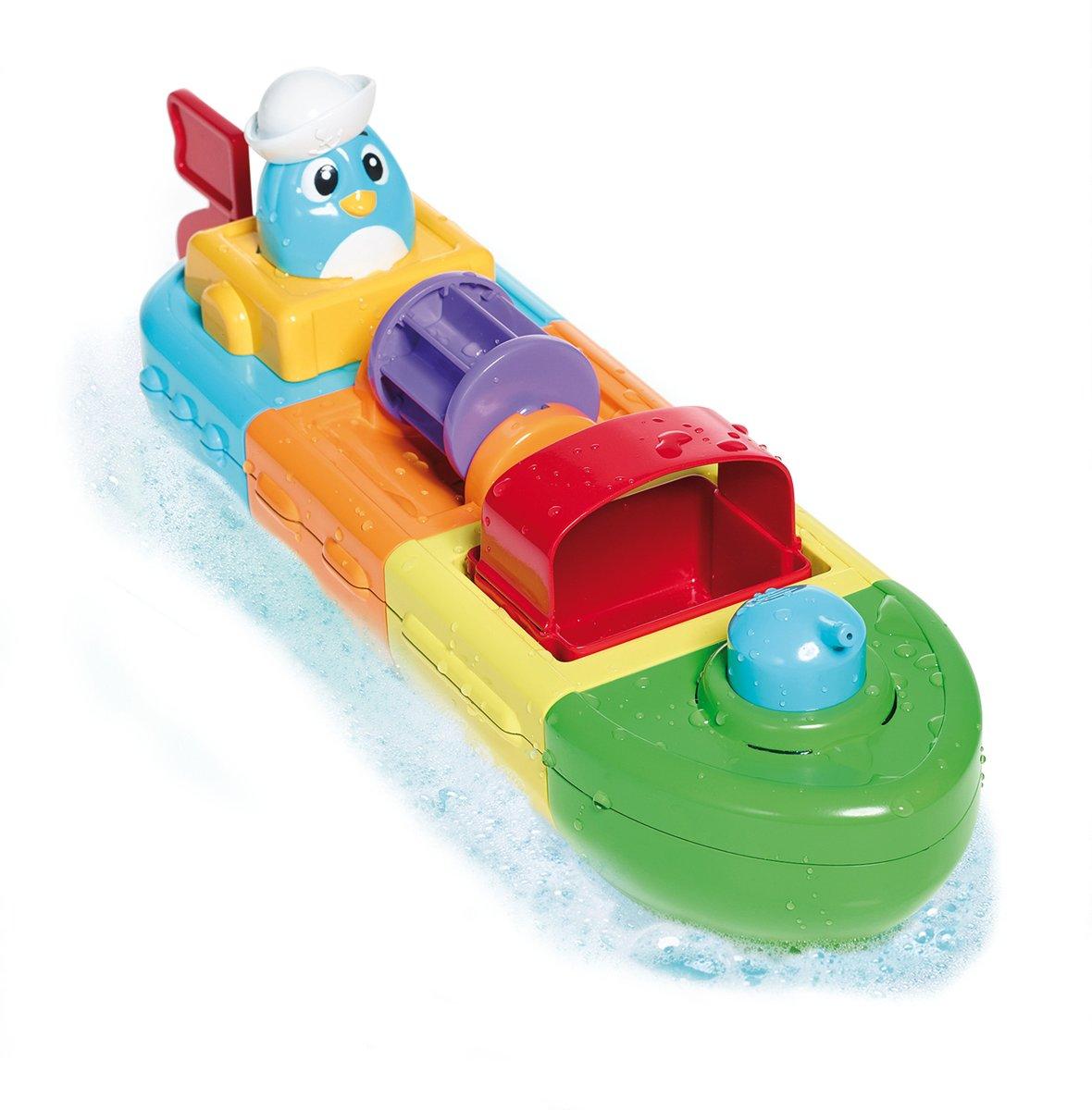 TOMY Mix & Match Motor Boat - Badspeelgoed